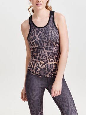 PRINTED SPORTS TOP