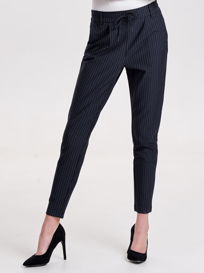 POPTRASH PINSTRIPE TROUSERS, Night Sky, large