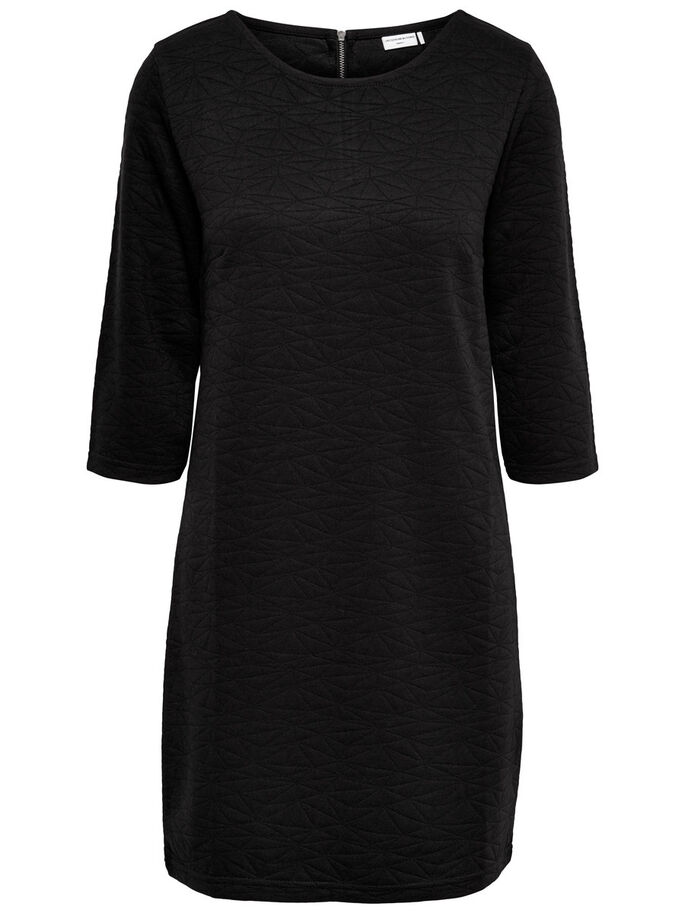 3/4 ÆRMET SWEATKJOLE, Black, large