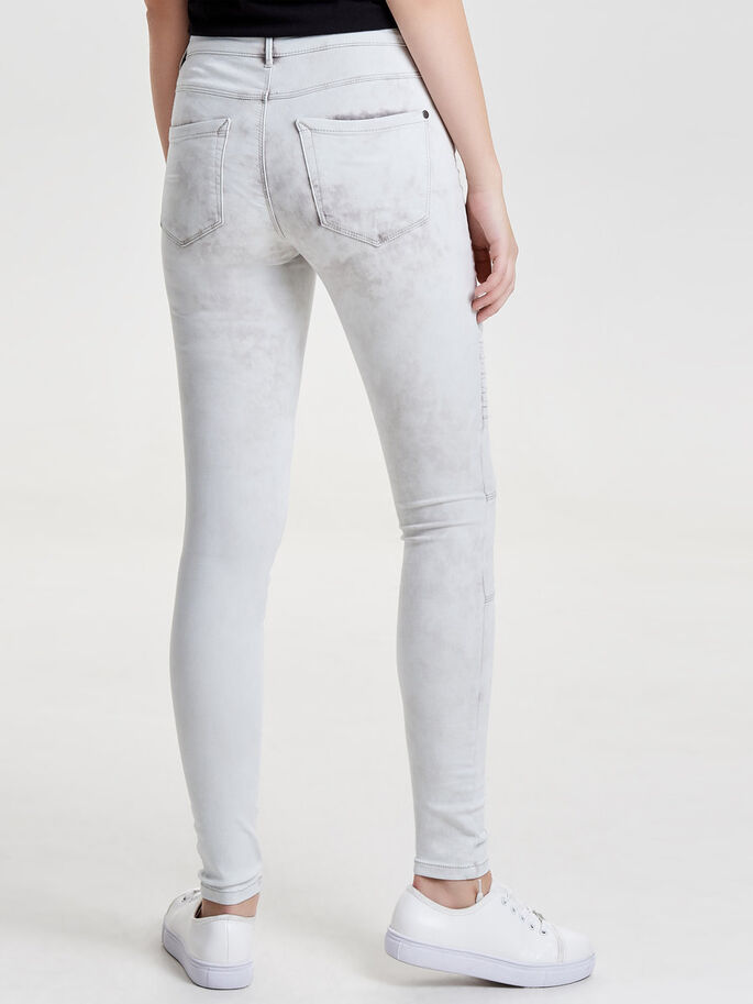 ROBBI REG ACID JEAN SKINNY, Light Grey Denim, large
