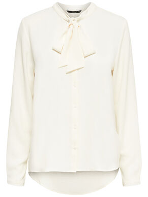BOW LONG SLEEVED TOP