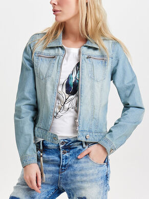 ZIP DENIM JACKET