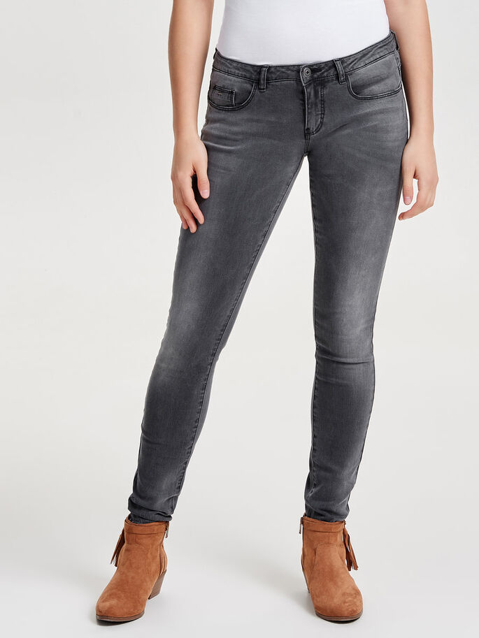 CORAL SL SKINNY JEANS, Medium Grey Denim, large