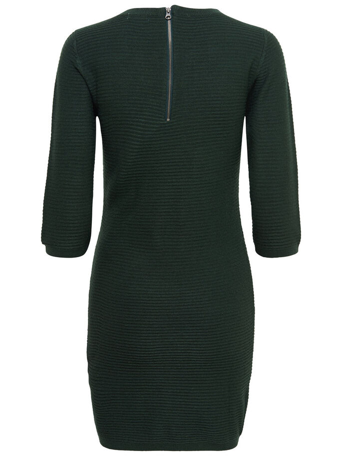 ZIP DRESS, Scarab, large