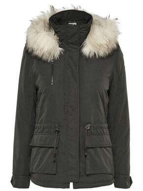 DETAILED PARKA COAT