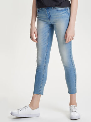 LOW AVRIL CROPPED JEANS SKINNY FIT