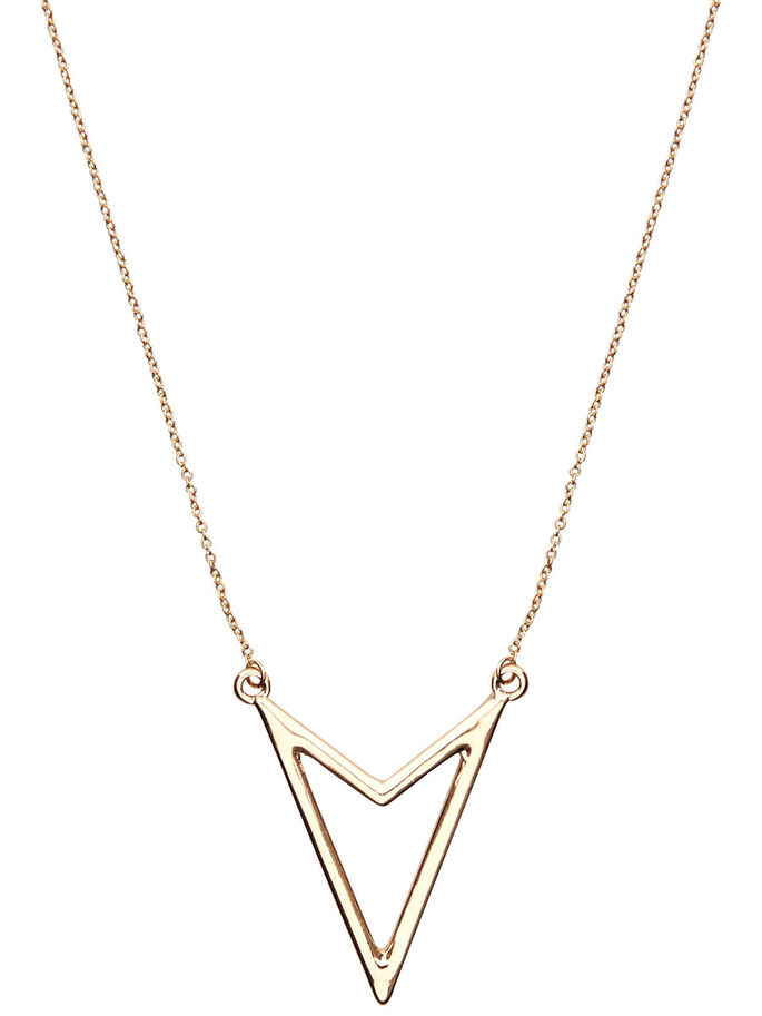 3-PACK NECKLACE, Gold Colour, large
