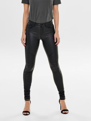 NEW ROYAL REVESTIDOS DE ESTILO BIKER JEANS SKINNY FIT