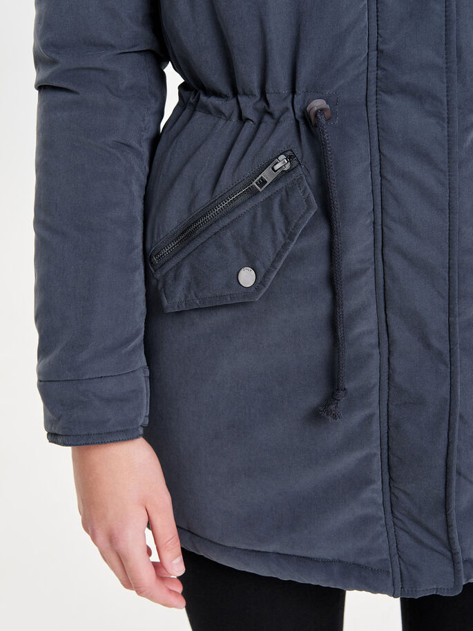 LANG PARKA, Blue Graphite, large