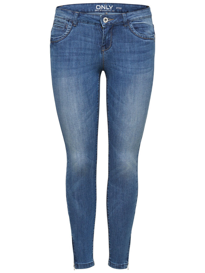 KENDELL ANKLE SKINNY JEANS, Medium Blue Denim, large