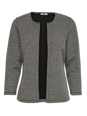 7/8 SLEEVED KNITTED CARDIGAN
