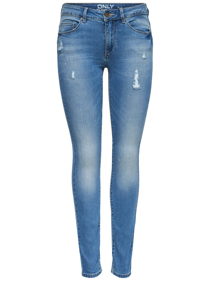 CARMEN REG SKINNY FIT JEANS, Medium Blue Denim, large