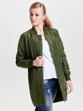 NYLON BOMBER COAT