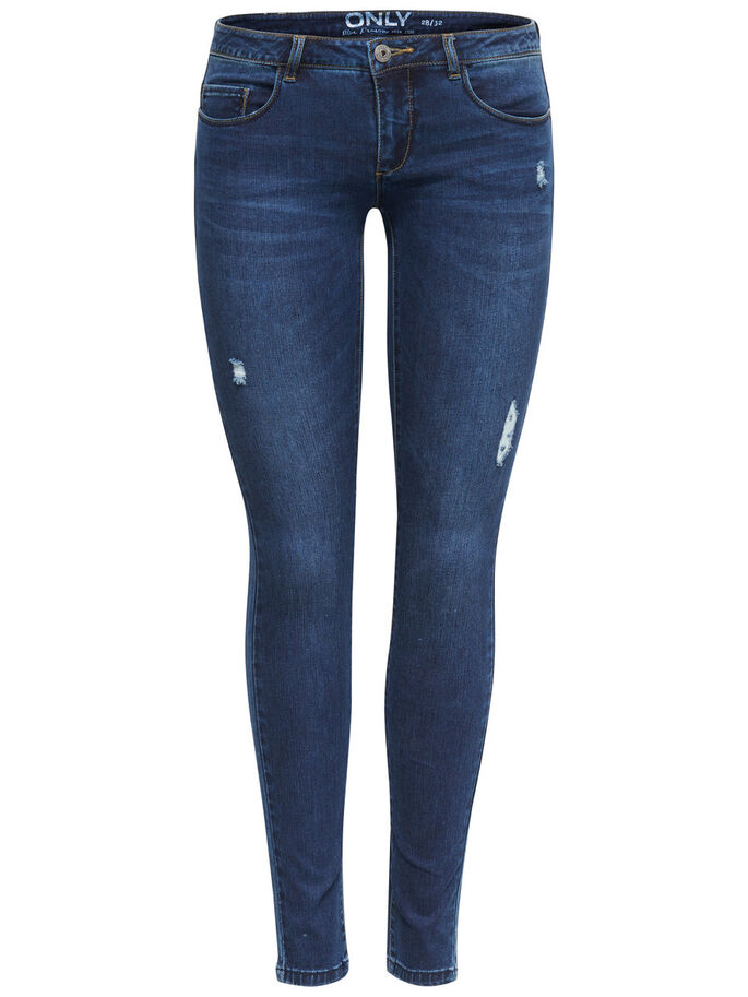 CORAL SL JEANS SKINNY FIT, Dark Blue Denim, large