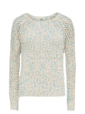 MULTI COLORED KNITTED PULLOVER