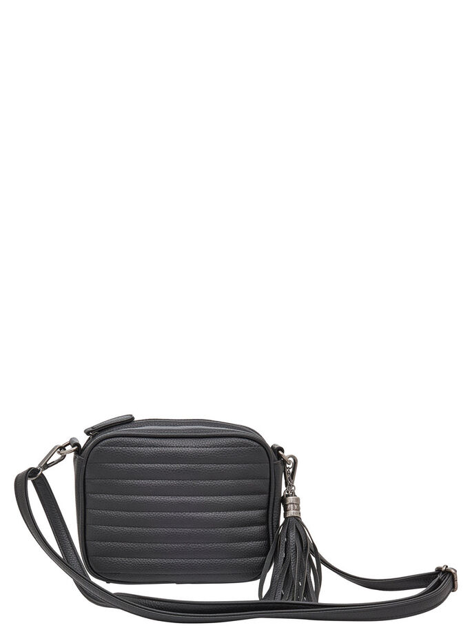 SKINNENDE CROSS OVER BAG, Black, large
