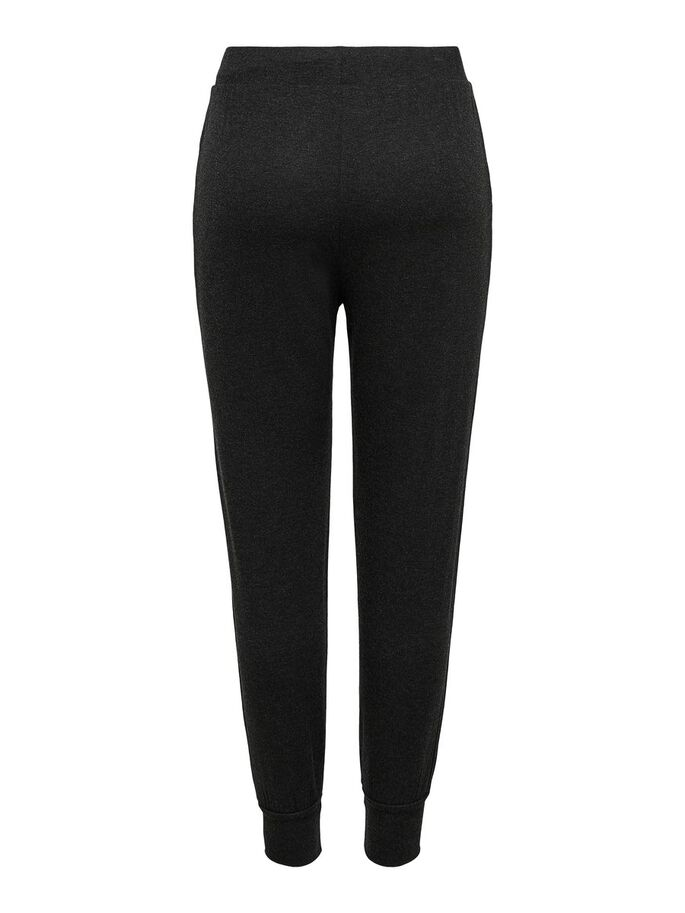 LOOSE TROUSERS, Black, large