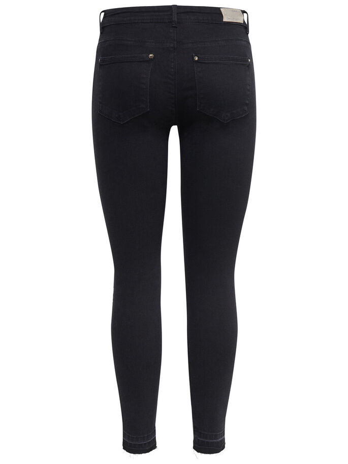 CORAL SL ANKLE SKINNY FIT JEANS, Black, large