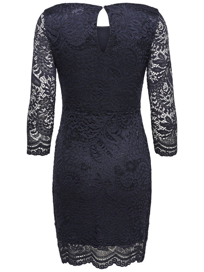 SPITZEN- PARTYKLEID, Night Sky, large