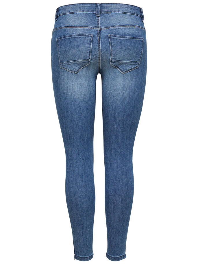 KENDELL ANKLE SKINNY FIT JEANS, Medium Blue Denim, large