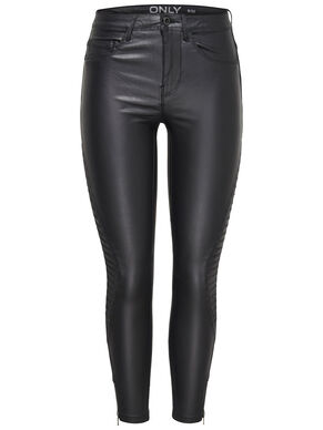 ROYAL REG RIDER COATED ANKLE SKINNY FIT JEANS