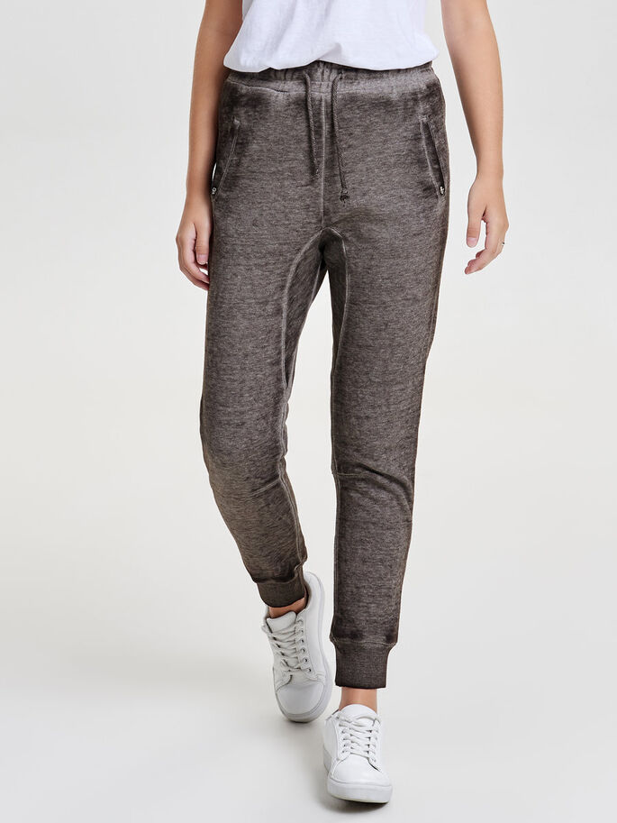 SOLID SWEAT PANTS, Magnet, large