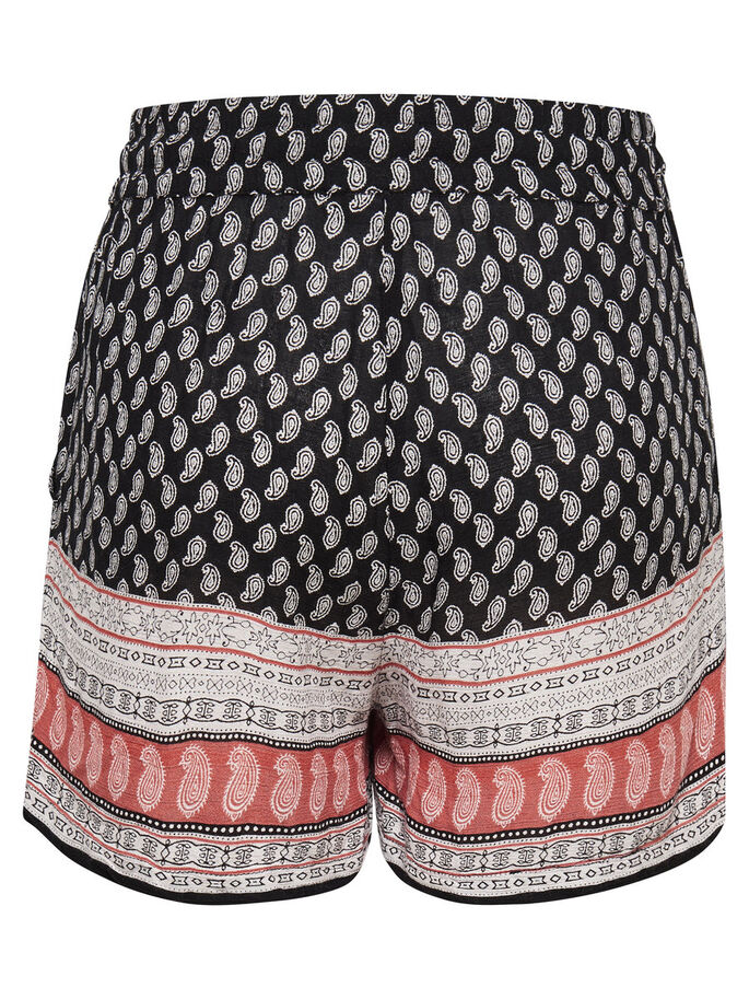 BEDRUCKTE SHORTS, Black, large