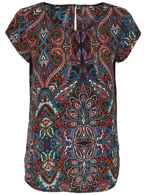 LUX SHORT SLEEVED TOP