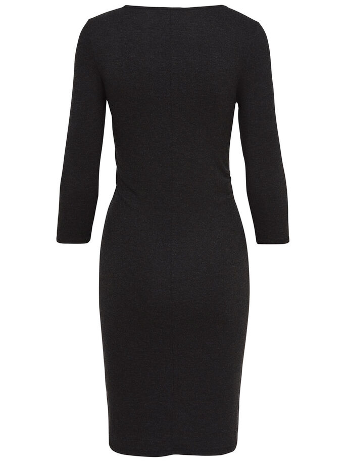 DETAILED DRESS, Black, large