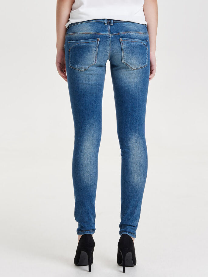 CORAL SL SKINNY JEANS, Light Blue Denim, large