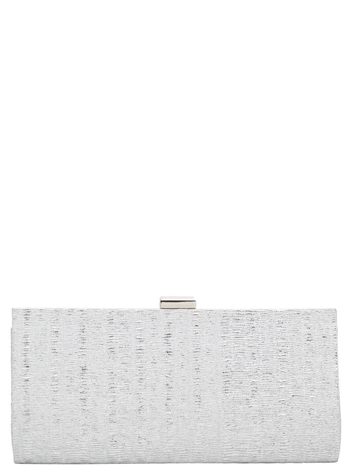 PARTY- CLUTCH, Silver, large