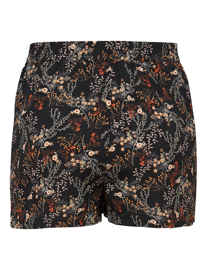 PRINTED SHORTS, Black, large