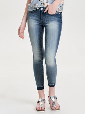 LOW CALL ANKLE JEANS SKINNY FIT