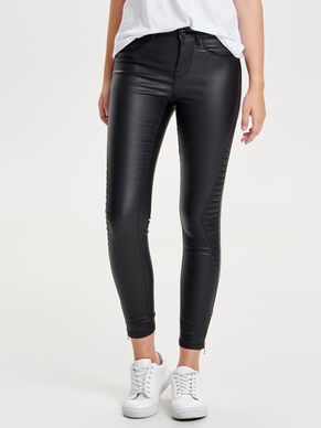 ROYAL REG RIDER COATED ANKLE JEANS SKINNY FIT