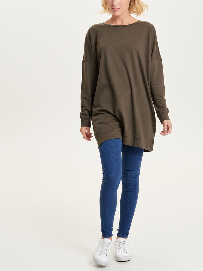 OVERSIZE SWEAT-SHIRT, Wren, large