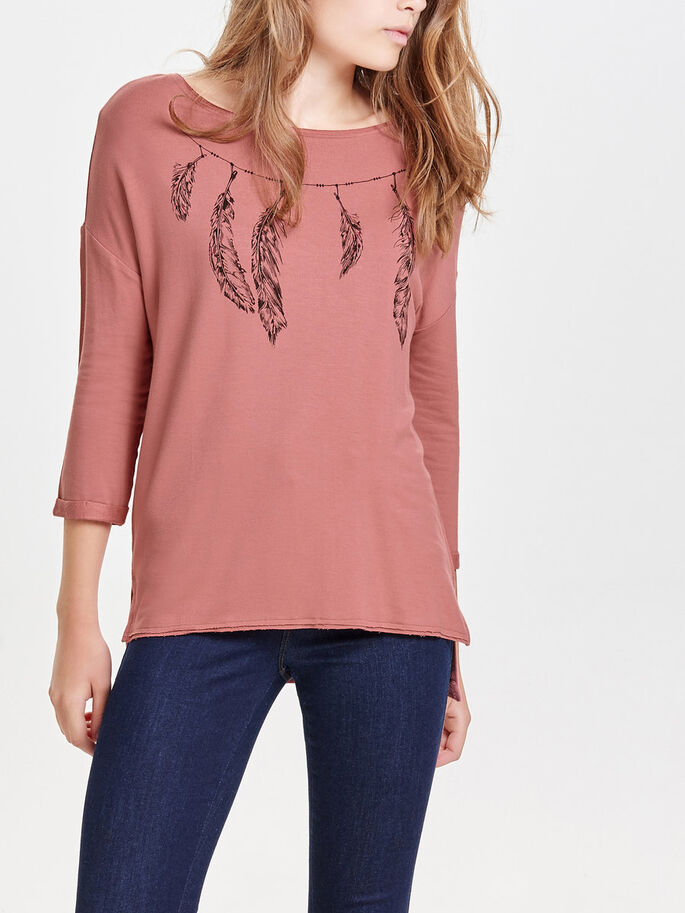 RUIMVALLEND SWEATSHIRT, Canyon Rose, large