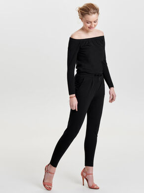 OFF-SHOULDER- JUMPSUIT