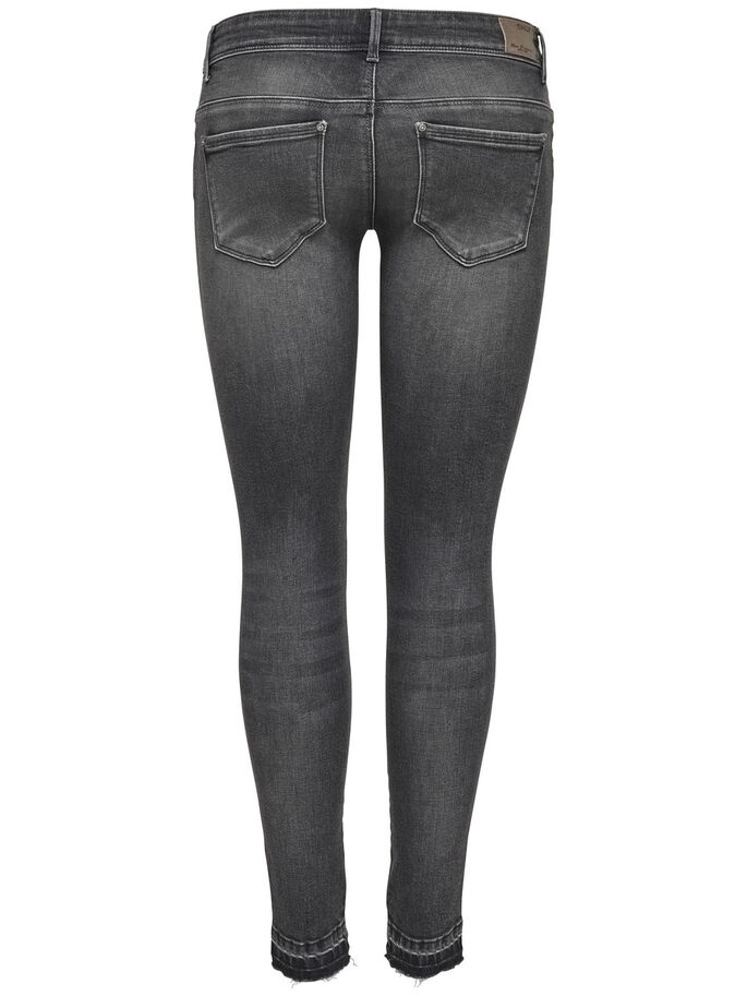 CORAL SUPERLOW ANKLE SKINNY FIT JEANS, Medium Grey Denim, large