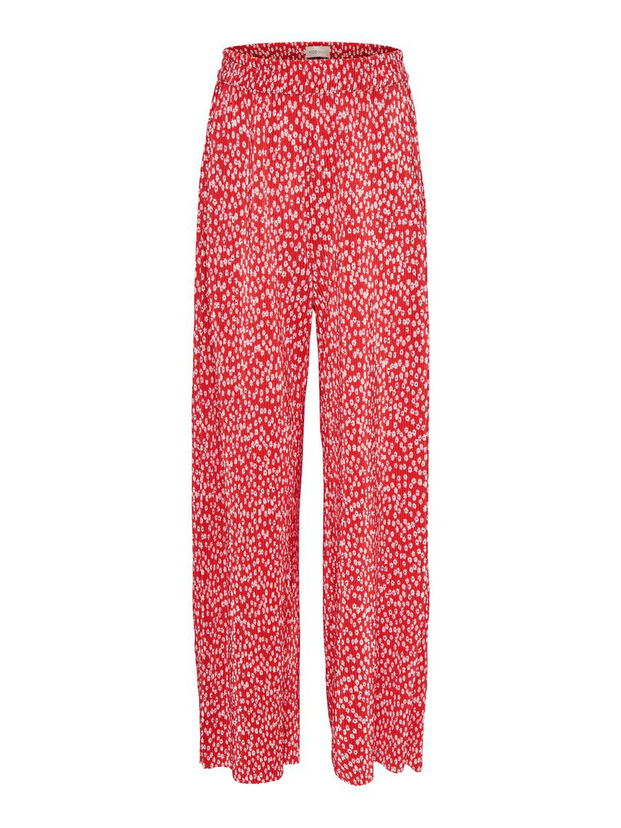 ONLY Kids Only Plissee Hose Damen Rot