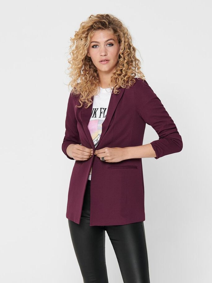 KLASSISK BLAZER, Port Royale, large