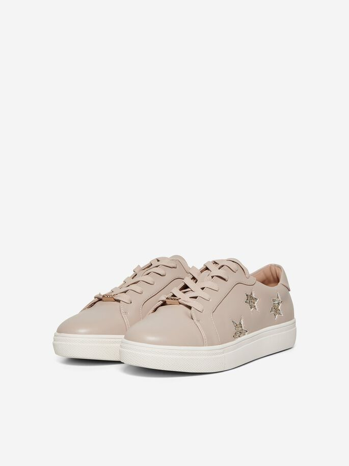 reputable site 1a104 a6374 SOLID COLOR SNEAKERS