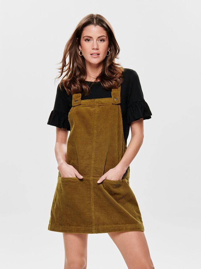 024a30ae01d Overall corduroy dress