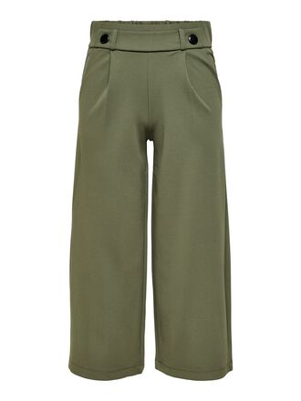 WIDE LEGS ANKLE TROUSERS