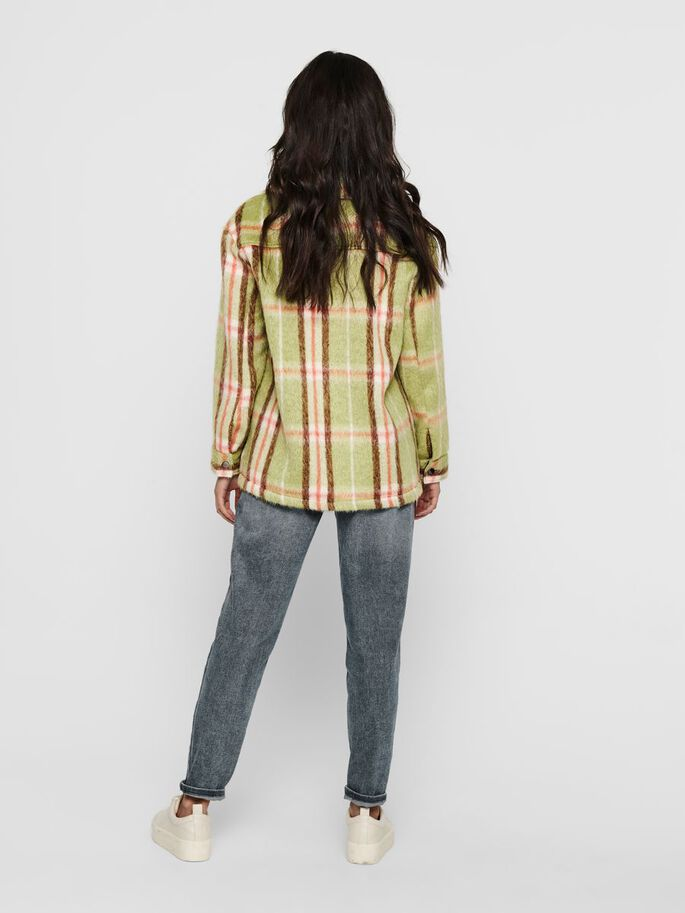 CHECKED JACKET, Tendril, large