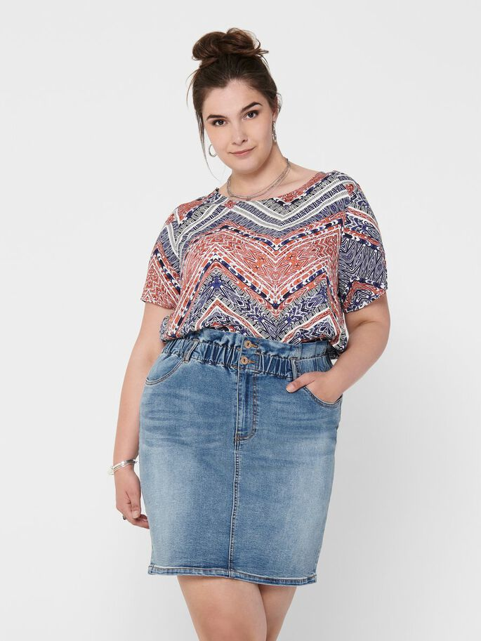 CURVY VISCOSE TOP, Cloud Dancer, large