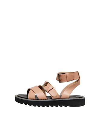 CHUNKY WRAP SANDALS
