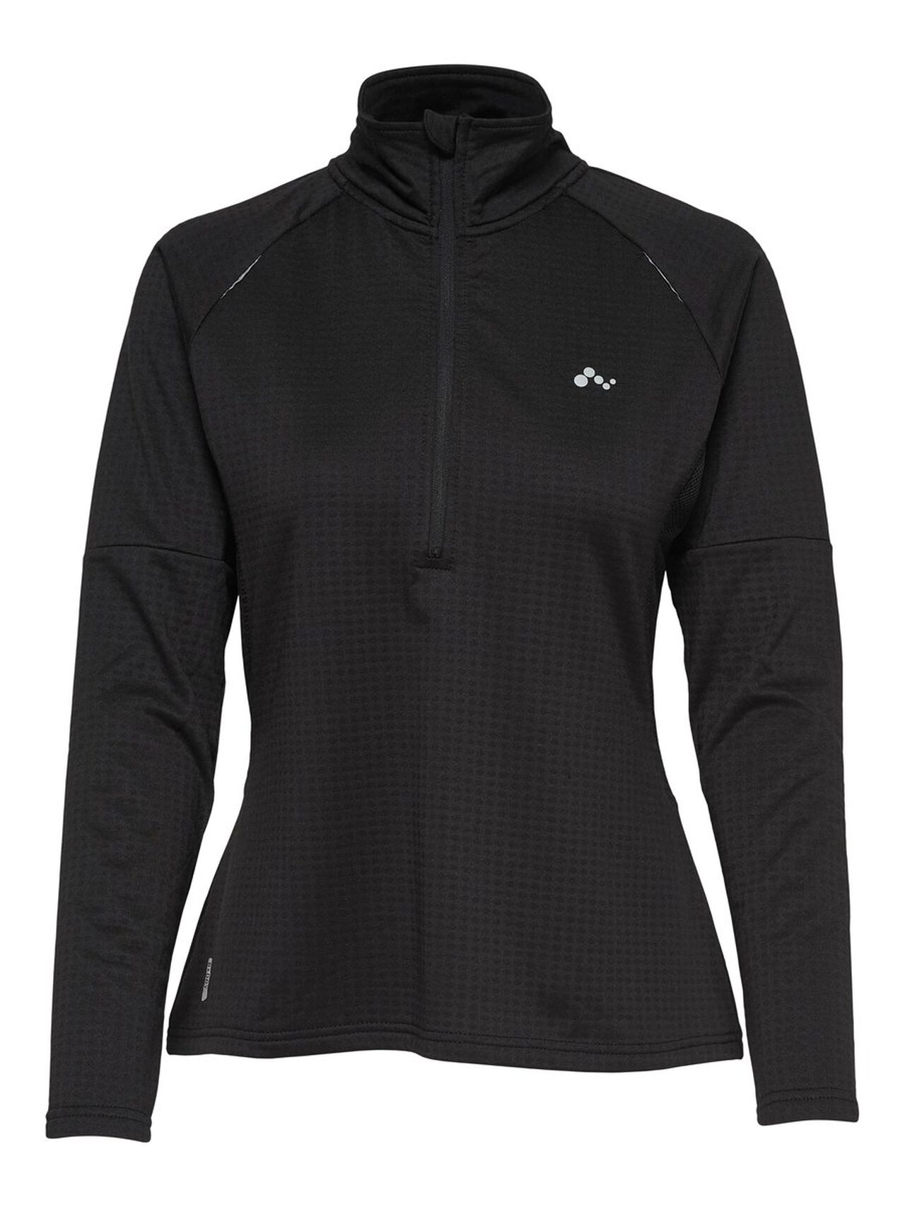 ONLY Half Zip Training Top Women Black