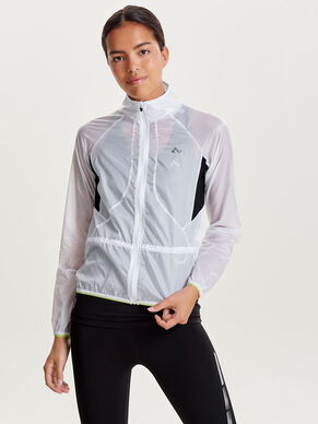 CONTRAST RUNNING JACKET