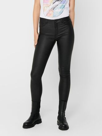 JDYNEW THUNDER COATED HIGH SKINNY FIT JEANS