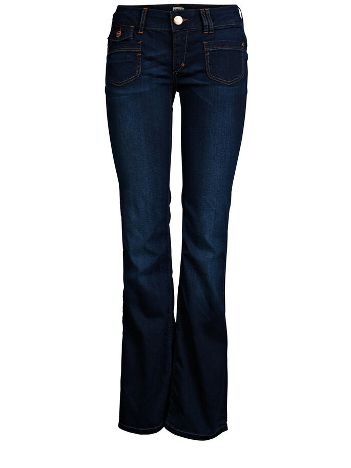 BOOTCUT LOW EBBA SLIM FIT JEANS, DENIM, large